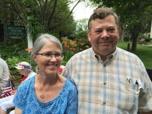 Linda and Steve Austin