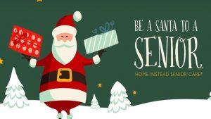santa to a senior