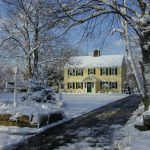 Decatur House in the Winter
