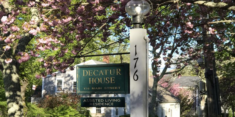 front sign, spring